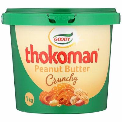 THOKOMAN P/BUTTER CRUNCHY 1KG
