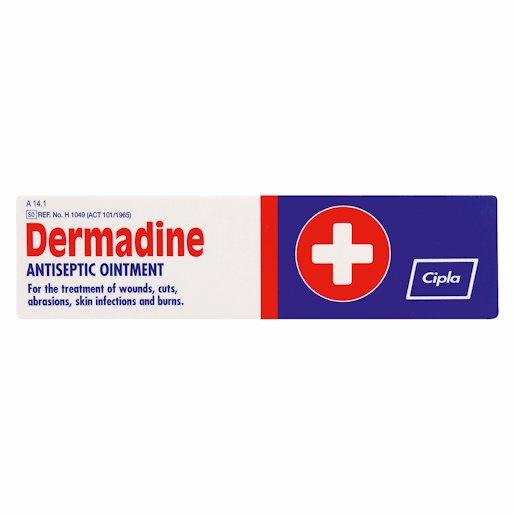 DERMADINE A/SEPT OINTMENT 25GR