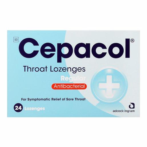 CEPACOL LOZENGES REGULAR 24'S