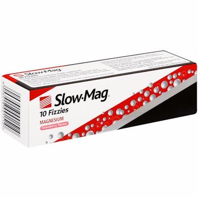 SLOW MAG EFFERVESCENT TABLETS 10'S