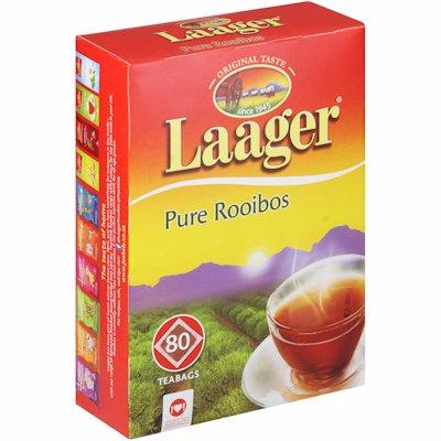 LAAGER ROOIBOS TEA BAGS 80'S