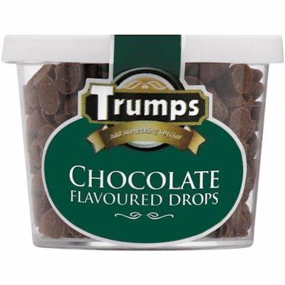 TRUMPS CHOCOLATE DROPS 50G