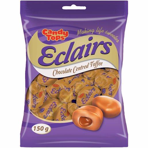 C/TOPS CHOCOLATE ECLAIRS 150G