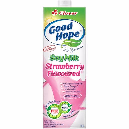 G/HOPE SOY SHAKE STRAWBERRY 1LT