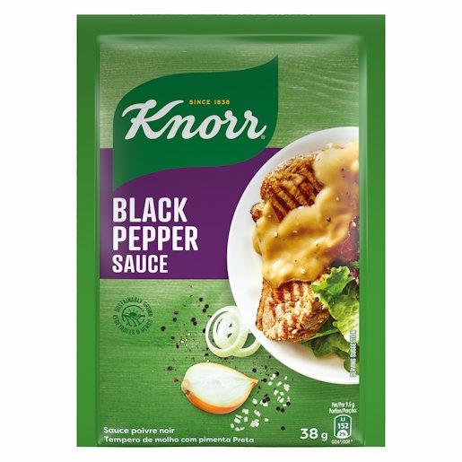 KNORR SAUCE BLK PEPPER 38GR