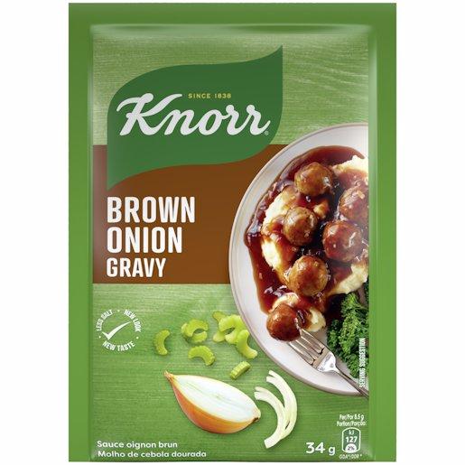 KNORR GRAVY BROWN ONION 34GR