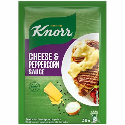 KNORR CHEESE & PEPPERCORN SAUCE 38G