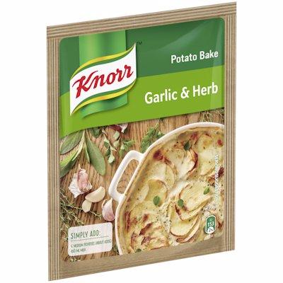 KNORR POTATO BAKE GARLIC & HERB 43G