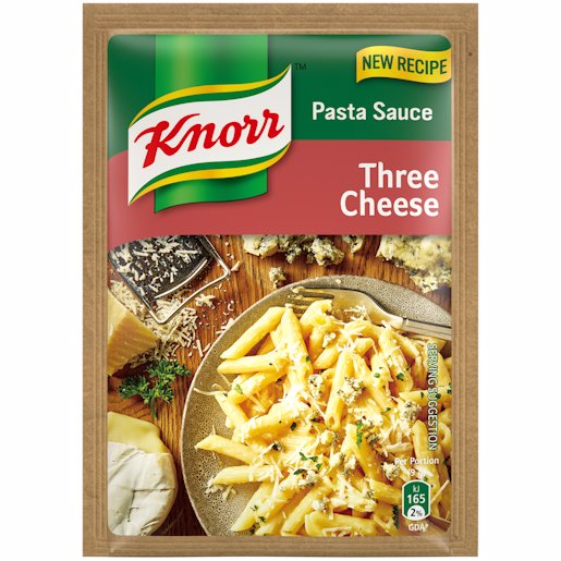 KNORR P/SAUCE THREE CHEESE 43GR