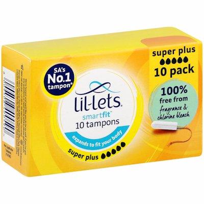 LILLETS SUPER PLUS 10'S