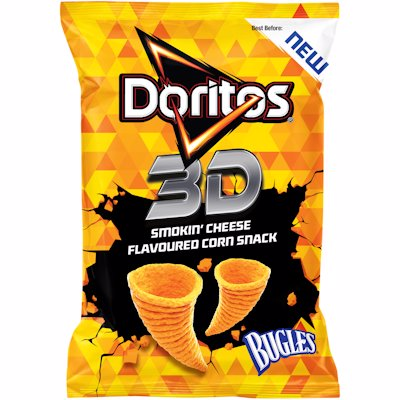 DORITOS 3D BUGLES SMK CHS 100GR
