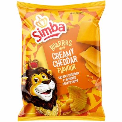SIMBA CHIPS CRMY CHEDDAR 120GR