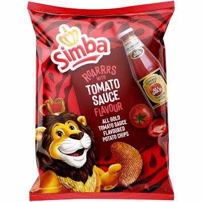SIMBA CHIPS AG TOMATO SCE 120GR