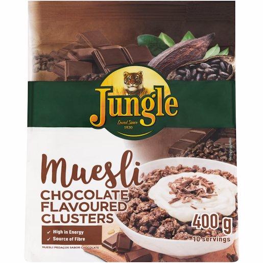 JUNGLE MUESLI CHOCOLATE 400GR