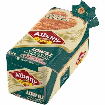 ALBANY LOW GI W/W S/B 800G
