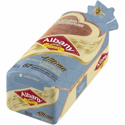 ALBANY ULTIMA KILOJULE CONTROL BROWN BREAD 500G