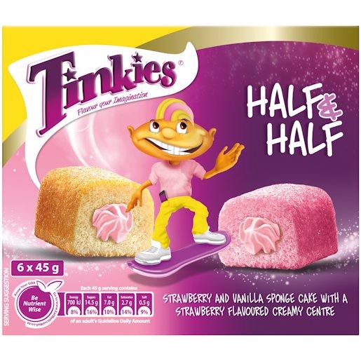 TINKIES HALF&HALF STRA&VAN 6'S