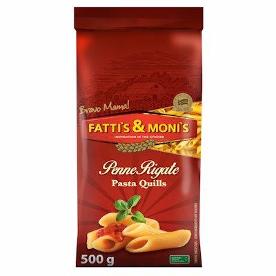FATTIS & MONIS PENNE RIGATTE PASTA QUILLS 500G
