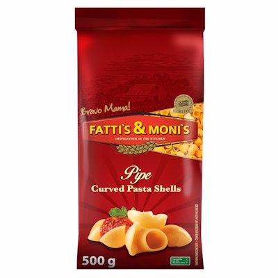 FATTIS & MONIS PIPE CURVED PASTA SHELLS 500G