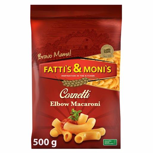 FATTI'S & MONI'S PASTA ELBOW 500GR