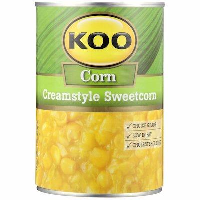 KOO SWEETCORN C/STYLE 415GR