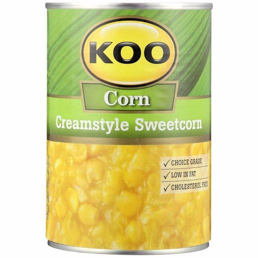KOO SWEETCORN CREAM STYLE 415GR