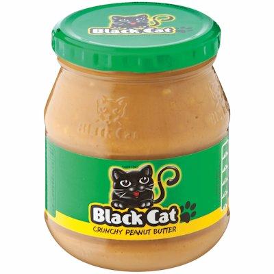 BLACK CAT P/BUTT CRUNCH 400GR