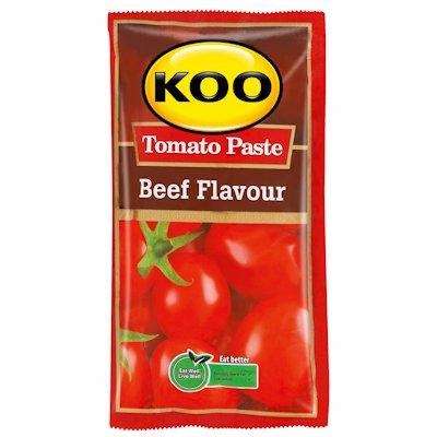 KOO TOMATO PASTE BEEF FLAVOUR 50G