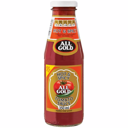 ALL GOLD TOMSCE HOT&SPICY 350ML