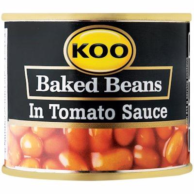 KOO BAKED BEANS TOM SCE 215GR