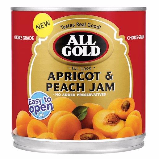 AG JAM APRICOT & PEACH 900GR