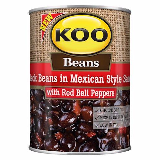 KOO BEANS MEXICAN BLACK 410GR