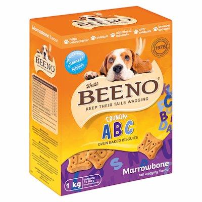BEENO MARROWBONE DOG BISCUITS MEDIUM 1KG