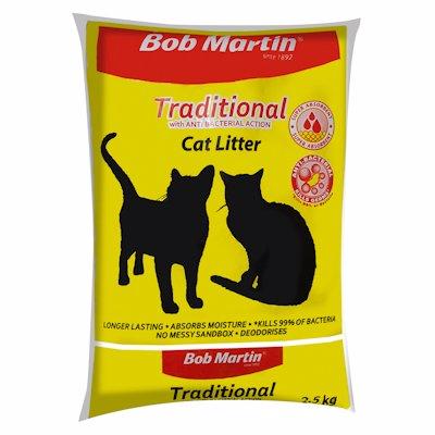 B/MARTIN CAT LITTER TRADITION 2.5KG