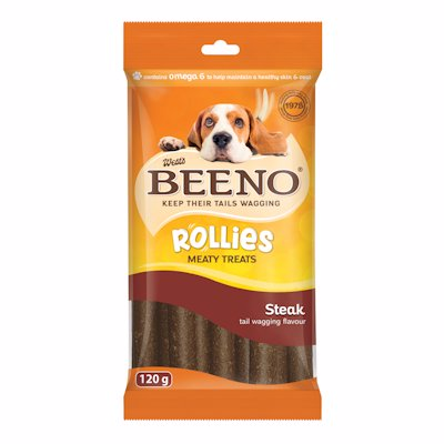 BEENO ROLLIES STEAK FLAVOUR 120GR
