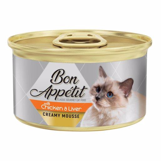 B/APP CAT CRM CHIC&LIVER 85GR