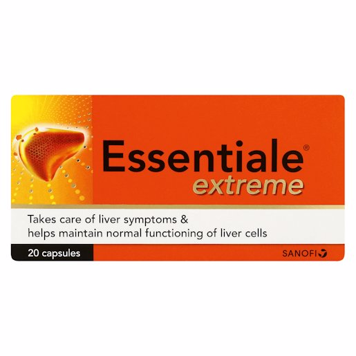 ESSENTIALE EXT LIVER TABS 20'S