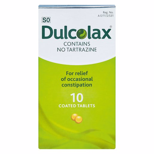 DULCOLAX TABLETS 10'S