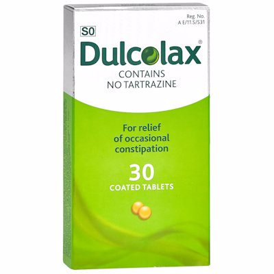 DULCOLAX TABLETS 30'S