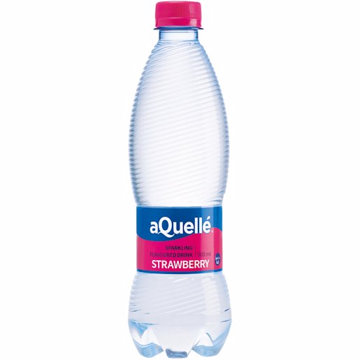 AQUELLA FLAV WATER STRAWBERRY 500ML