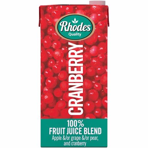 RHODES 100% JCE CRANBERRY 1LT