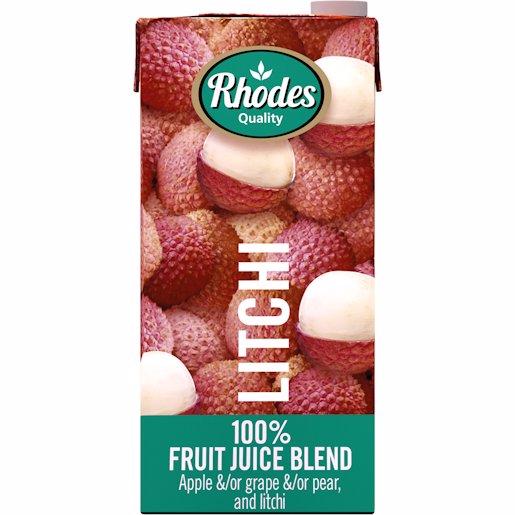 RHODES 100% JCE LITCHI 1LT