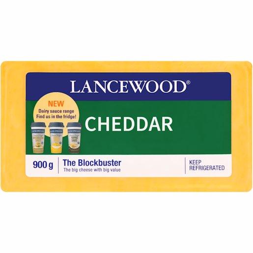L/WOOD CHSE CHEDDAR 900GR