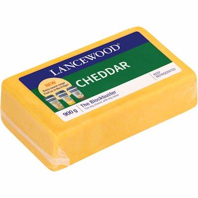 LANCEWOOD CHEDDAR 900GR