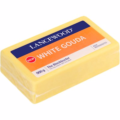 L/WOOD CHSE GOUDA WHITE 900GR