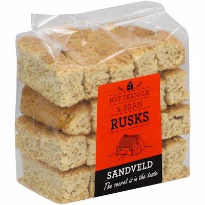 SANDVELD BUTTERMILK/BRAN 500GR