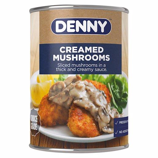 DENNY MUSHROOMS CREAMED 285GR 300GR