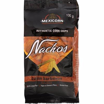 MEXICORN NACHOS CAJUN BBQ 100G