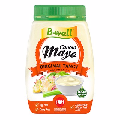 B WELL MAYONAISE TANGY 750GR
