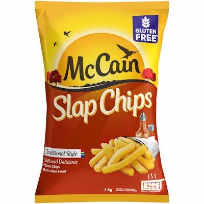 MCCAIN FRZ SLAP CHIPS 1KG